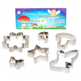 Cookie Cutters Fairies, Rust Resistant & Dishwasher Safe
