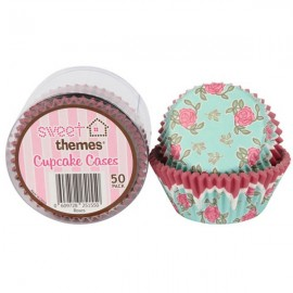 Cupcake Cases Roses,