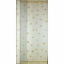 Tablecloth Roll Paper Stars Gold
