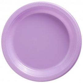 Banquet Plates Lavender Lilac Plastic 26cm