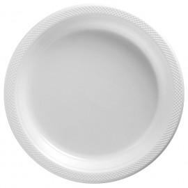 Banquet Plates Frosty White Plastic 26cm