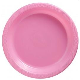 Banquet Plates New Pastel Pink Plastic 26cm