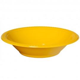 Bowls Yellow Sunshine 18cm Plastic