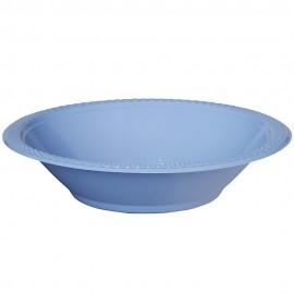 Bowls Pastel Blue 18cm Plastic