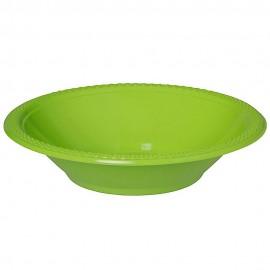 Bowls Kiwi Lime Green 18cm Plastic
