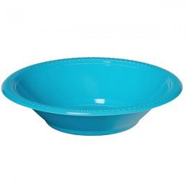 Bowls Caribbean Blue 18cm Plastic