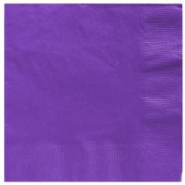 Beverage Napkins New Purple 2 Ply