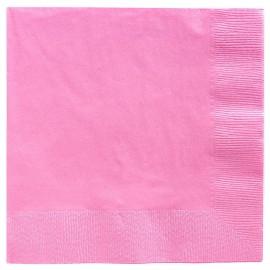 Beverage Napkins New Pastel Pink 2 Ply