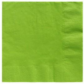 Beverage Napkins Kiwi Lime Green 2 Ply