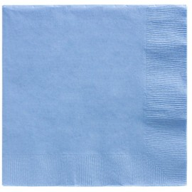 Luncheon Napkins Pastel Blue 2 Ply