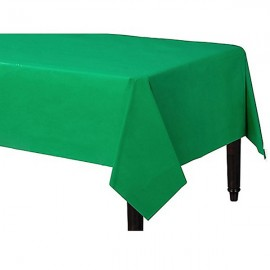 Tablecover Rectangle Festive Green Plastic