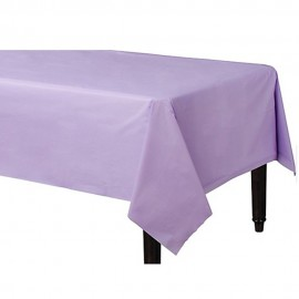 Tablecover Rectangle Lavender Lilac Plastic