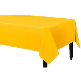 Tablecover Rectangle Yellow Sunshine Plastic