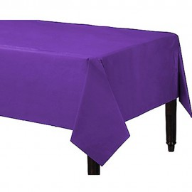 Tablecover Rectangle New Purple Plastic
