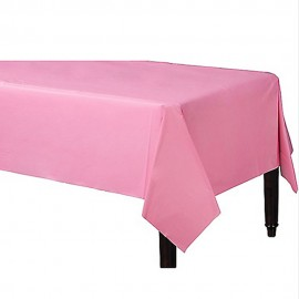 Tablecover Rectangle New Pastel Pink Plastic