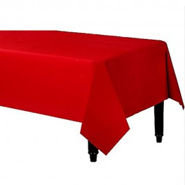Tablecover Rectangle Apple Red Plastic