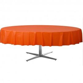 Tablecover Round Orange Peel Plastic