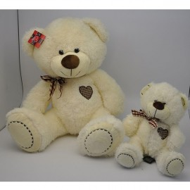 Soft Toy 20cm Bear Cream Vintage Style