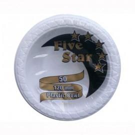 Bowls Small Economy White Plastic