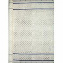 Tablecloth Roll Paper Blue Check