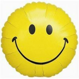 10cm Smiley Face (Inflated)