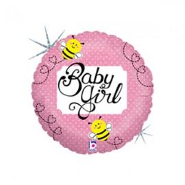 22cm Baby Girl Bee (Flat)