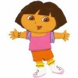Mini Shape Dora The Explorer (Flat)