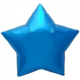 22cm Star Blue Self Sealing (Flat)