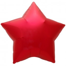 22cm Star Red Self Sealing (Flat)