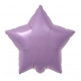 22cm Star Pastel Pink Self Sealing (Flat)