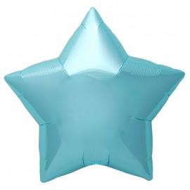 22cm Star Pastel Blue Self Sealing (Flat)