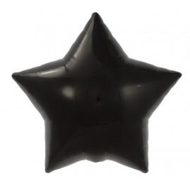 22cm Star Black Self Sealing (Flat)
