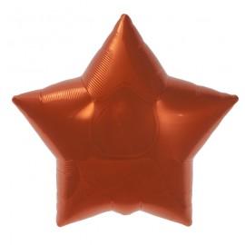 22cm Star Orange Self Sealing (Flat)