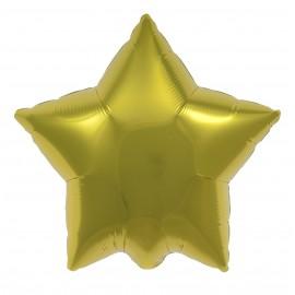 22cm Star Citrine Yellow Self Sealing (Flat)