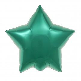 22cm Star Teal Green Self Sealing (Flat)