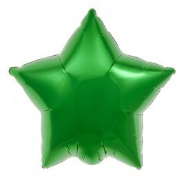 22cm Star Emerald Green Self Sealing (Flat)