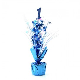 Centrepiece 1 Blue & Blue & Pearl Stars