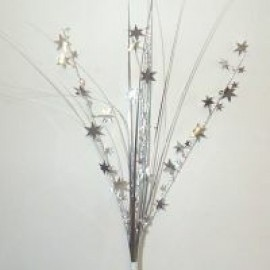 Onion Grass Stars Silver Spray Spangles