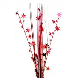 Onion Grass Stars Red Spray Spangles