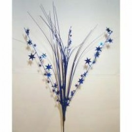 Onion Grass Stars Blue Spray Spangles