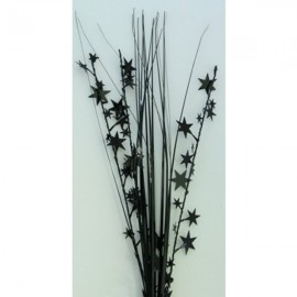 Onion Grass Stars Black Spray Spangles