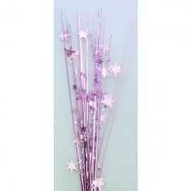 Onion Grass Stars Pink Spray Spangles