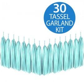 Tassel Garland Tissue Paper Mint Green