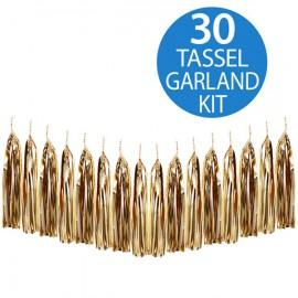 Tassel Garland Gold Metallic Foil