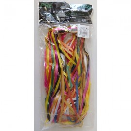 Pre-Tied Ribbons Assorted with Round Clips