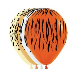 30cm Jungle Safari Animal Print Fashion Latex Balloons