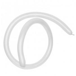 160QT Fashion White Modelling Latex Balloons