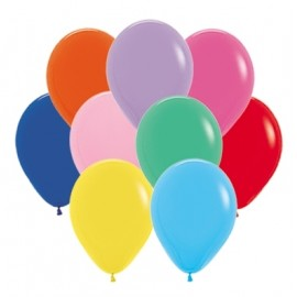 12cm Fashion Assorted Latex Balloons