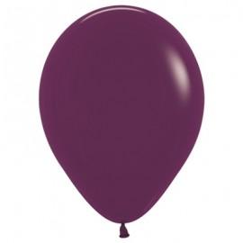 12cm Fashion Burgundy Latex Balloons