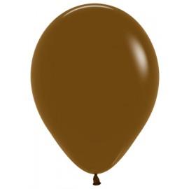 12cm Fashion Coffee Brown Latex Balloons